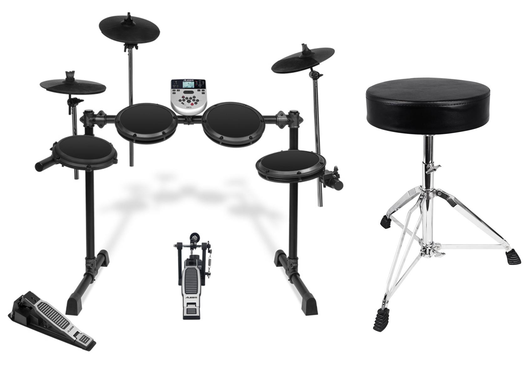 Alesis DM7X Session Kit Advanced Electronic Drum Set+Kick Pedal + Free Throne ! by Alesis