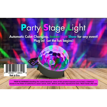 Creative Motion Party Stage Light, Projector Lights For all Events (Best Black Lights For Parties)