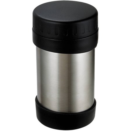 Range Kleen GO GO Wide Mouth Stainless Steel Food Bottle, 12 oz