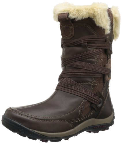 Merrell Women's Nikita Waterproof,Bitter Chocolate,6 M US by