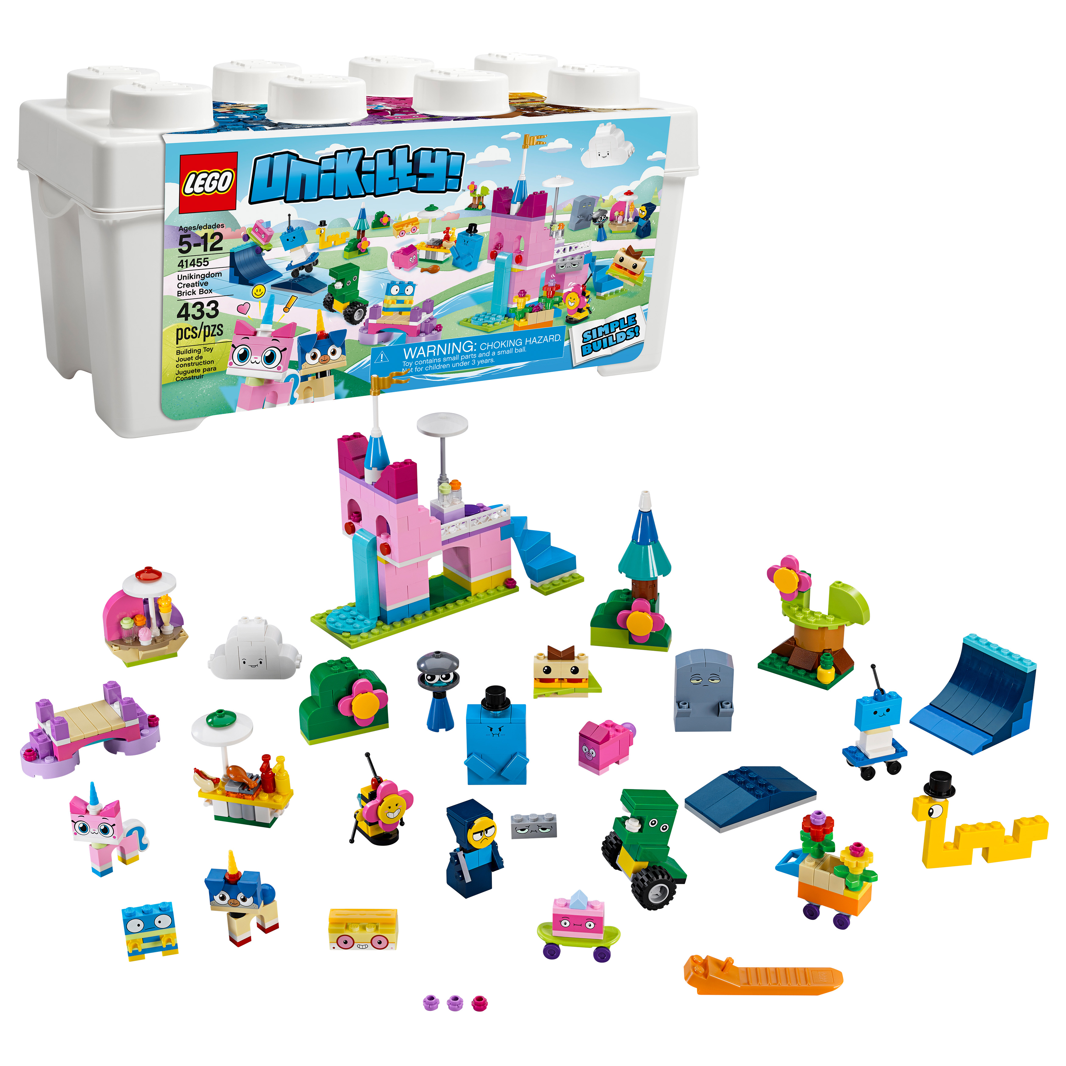 LEGO Unikitty Unikingdom Creative Brick Box 41455