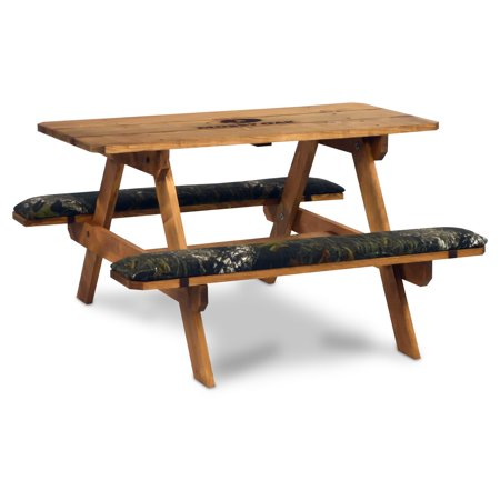 Wooden Picnic Table - Mossy Oak Break-Up Picnic Table