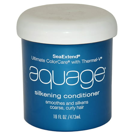 Aquage Seaextend Ultimate Colorcare with Thermal-V Silkening Conditioner - 16 oz - Aquage Shampoo Conditioner