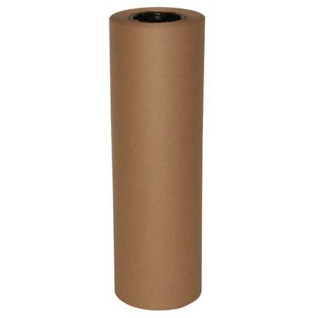 GRAINGER APPROVED Recycled Kraft Paper 18 In. x 250 ft., 40 lb. Basis Weight , 48K980
