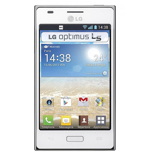 LG Optimus L5 Dual E615 GSM Android Cell Phone (Unlocked)