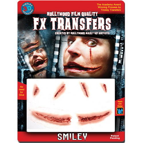 Halloween 3D FX Medium Smiley