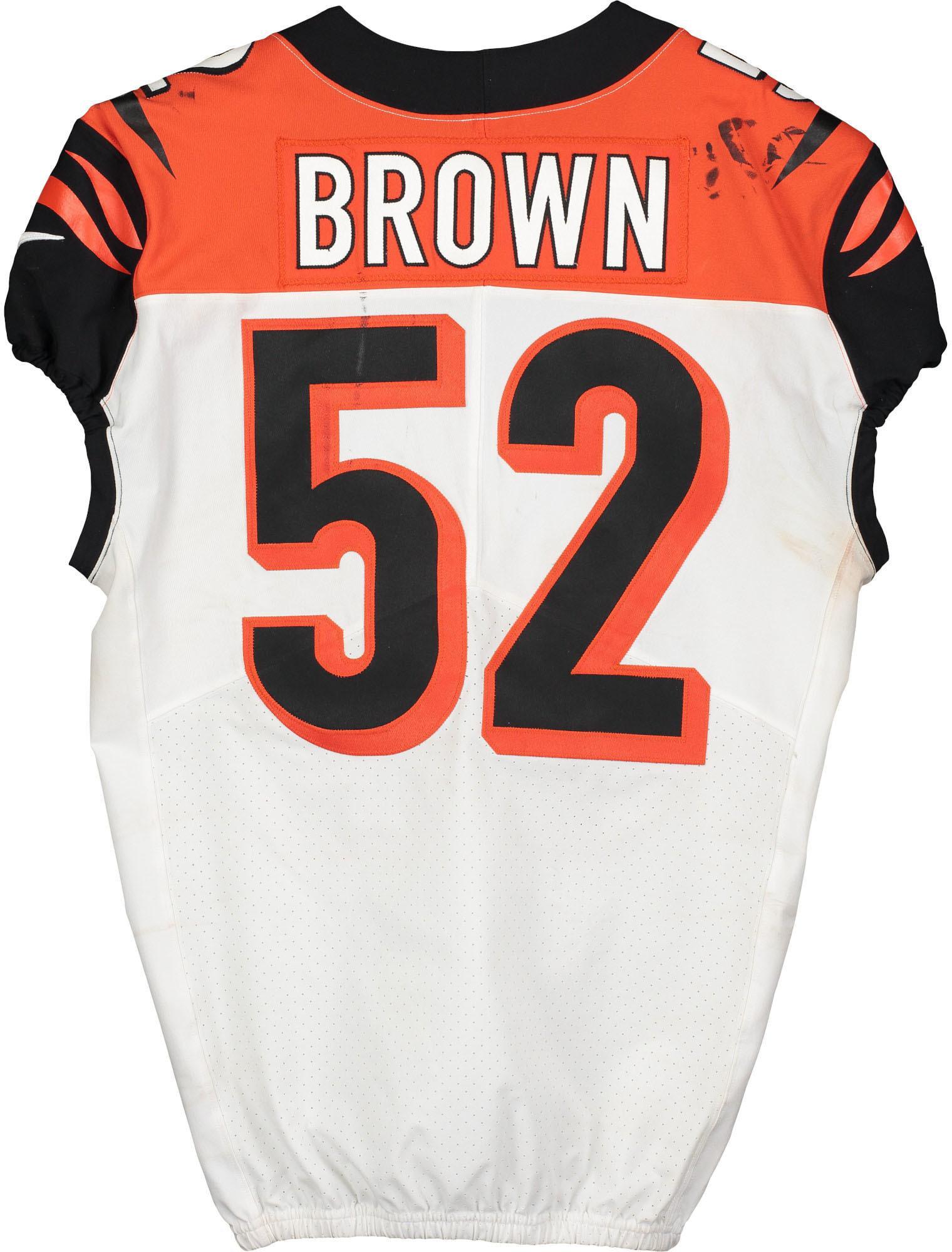preston brown bengals jersey