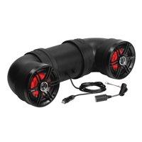 Soundstorm BTB6L 6.5 Inch 450W Bluetooth Amplified Marine UTV ATV Speaker System
