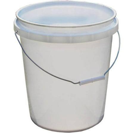 Encore Plastics 5-Gallon Pail, White