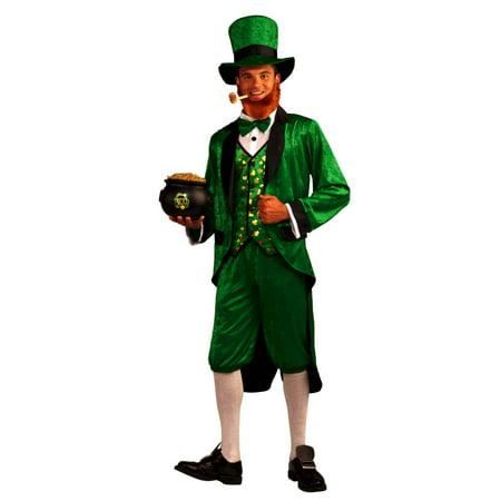 Mr Leprechaun Adult Halloween Costume - One Size - Walmart.com