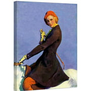 """Marmont Hill """"Woman on Horseback"""" by Guy Hoff Painting Print on Canvas"""