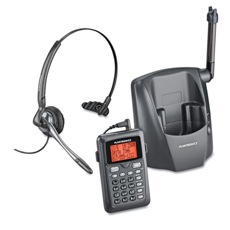 Plantronics DECT 6.0 Cordless Headset Telephone Cordless Usb Soft Phone Headset