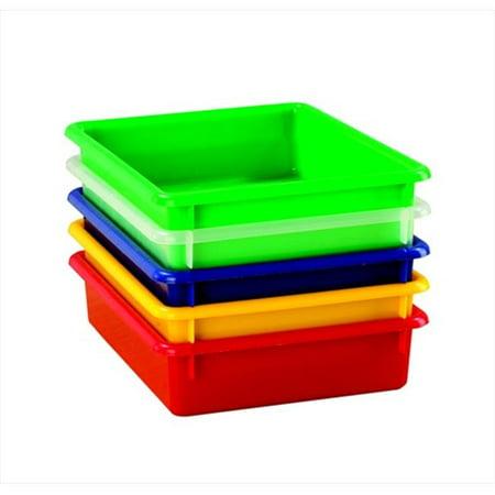 Flat Tray (School Smart 075146 Flat Storage Tray, Translucent )