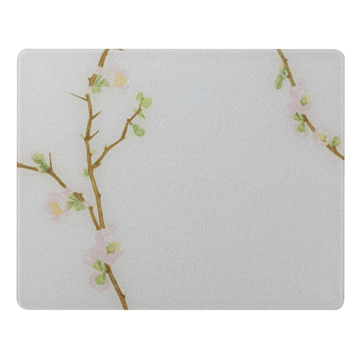 """91512CHEH Cherry Blossom 15 x 12"""" Counter Saver Tempered Glass Cutting Board, Ship from USA,Brand... by"""