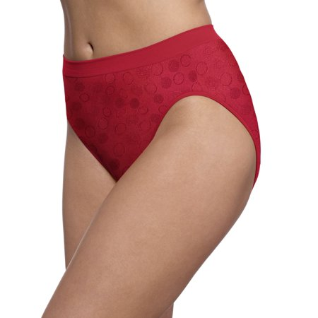 2c50fd5528648 Bali Comfort Revolution Women`s Microfiber Seamless Hi Cut Panty -  Best-Seller