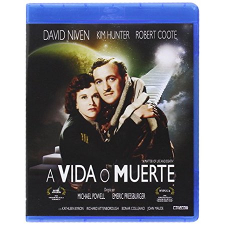 A Matter of Life and Death (1946) ( Stairway to Heaven ) ( A Matter of Life & Death ) [ Blu-Ray, Reg.A/B/C Import - Spain