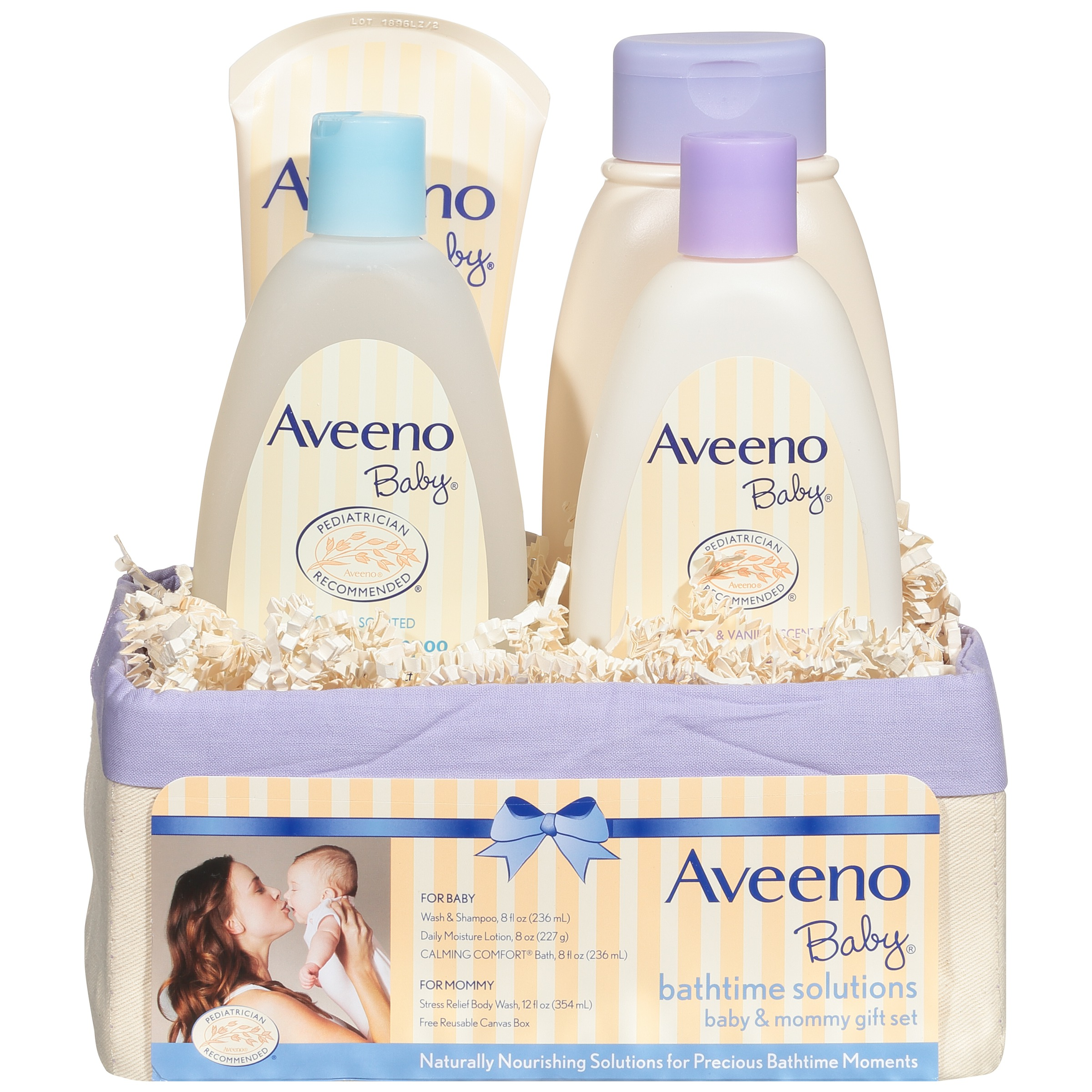 Aveeno Baby Daily Bath Time Solutions Gift Set To Prevent Dry Skin - Walmart.com