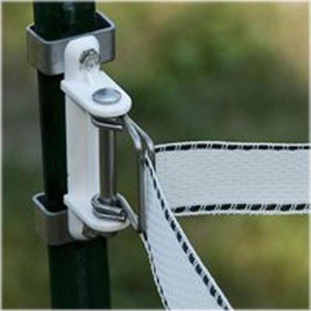 D Fence 2 (971283 T-Post Polytape Corner Insulator, for Use with Electric Fence, 2 in.,)