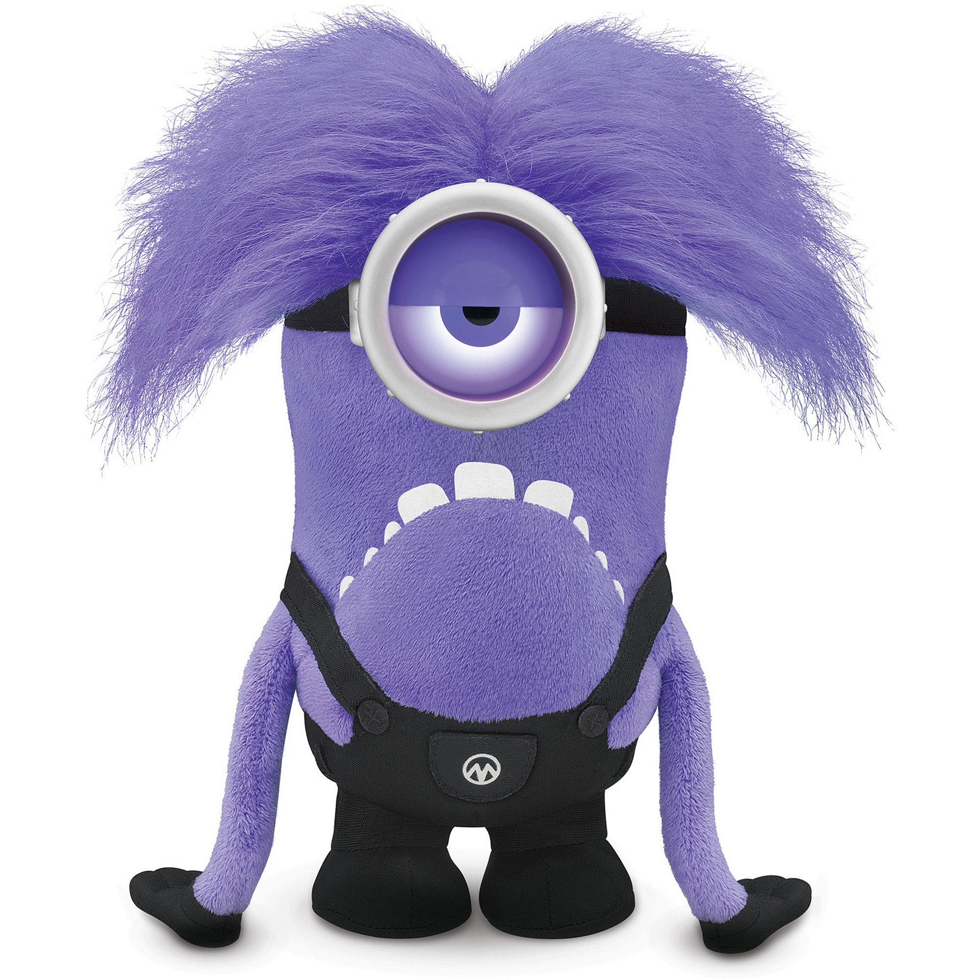 Despicable Me Talking Purple Minion Plush - Walmart.com | 450 x 450 jpeg 31kB