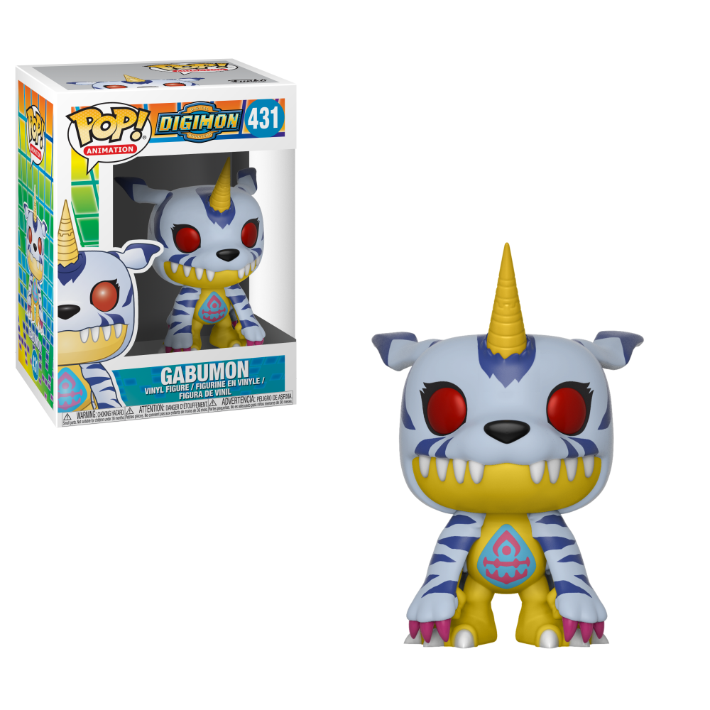 Funko Pop Animation: Digimon Series1 - Gabumon