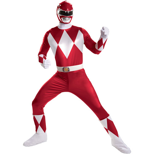 Red Ranger Super Deluxe Adult Halloween Costume