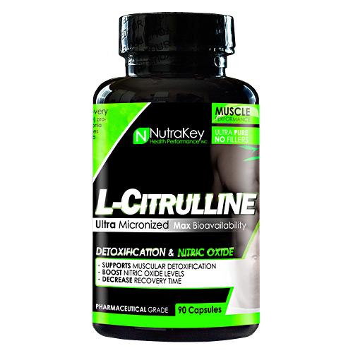 Nutrakey L-Citrulline Malate, 90 Capsules