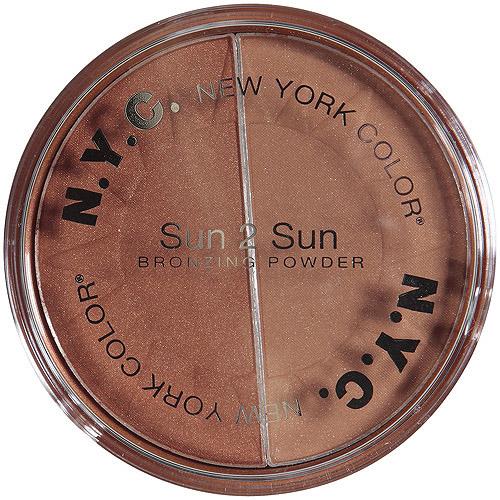 NYC New York Color Sun, 2 Sun All Over Bronzing Powder, 719A Terracotta Tan, 0.22 oz