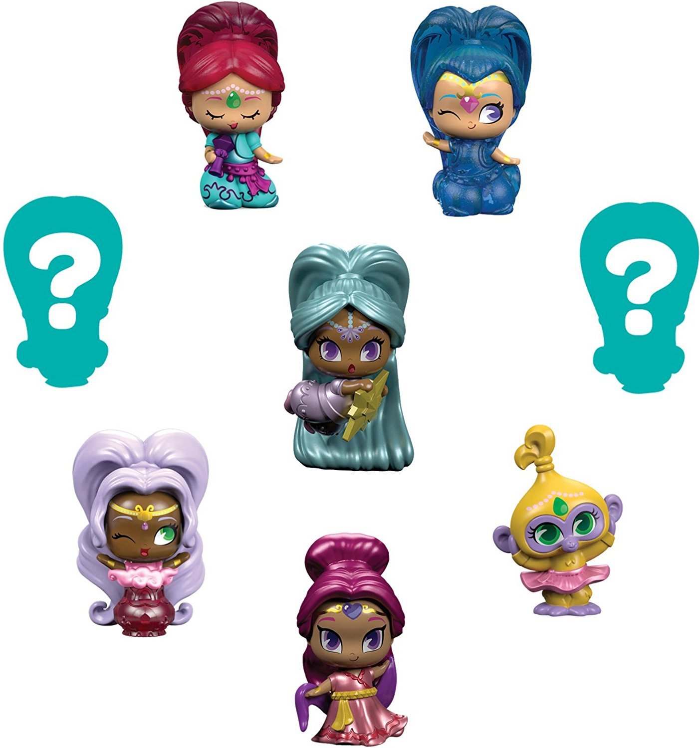 Fisher Price Nickelodeon Shimmer & Shine Teenie Genies Genie Toy (8 Pack), #3, �WELCOME to... by