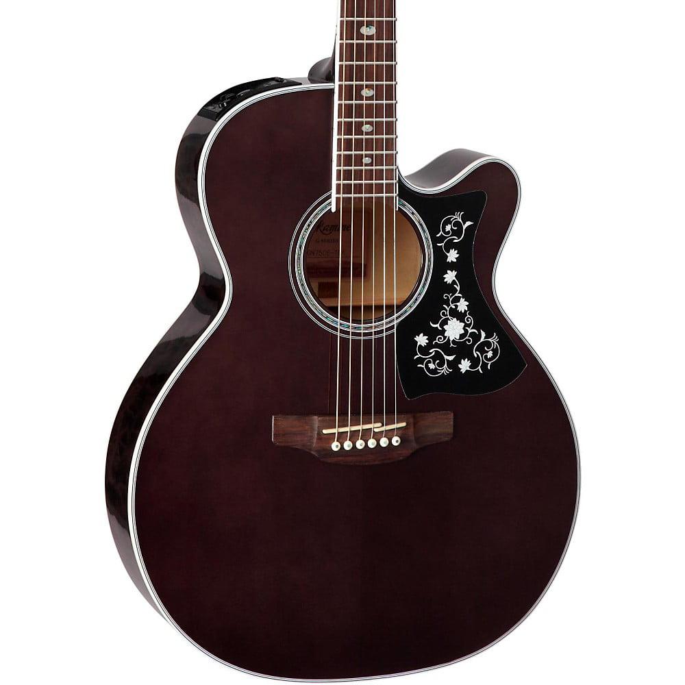 Takamine GN75CE Acoustic-Electric guitar Transparent Black