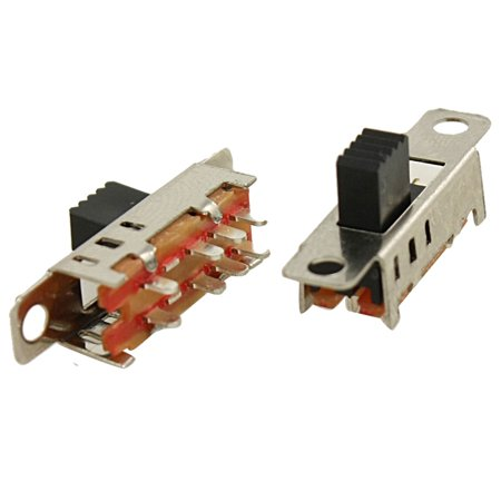 Pcb Patch Panel (5pcs 8 Pin PCB 3 Position On/On/On DP3T 2P3T Panel  Slide Switch SS23E04-G5 )