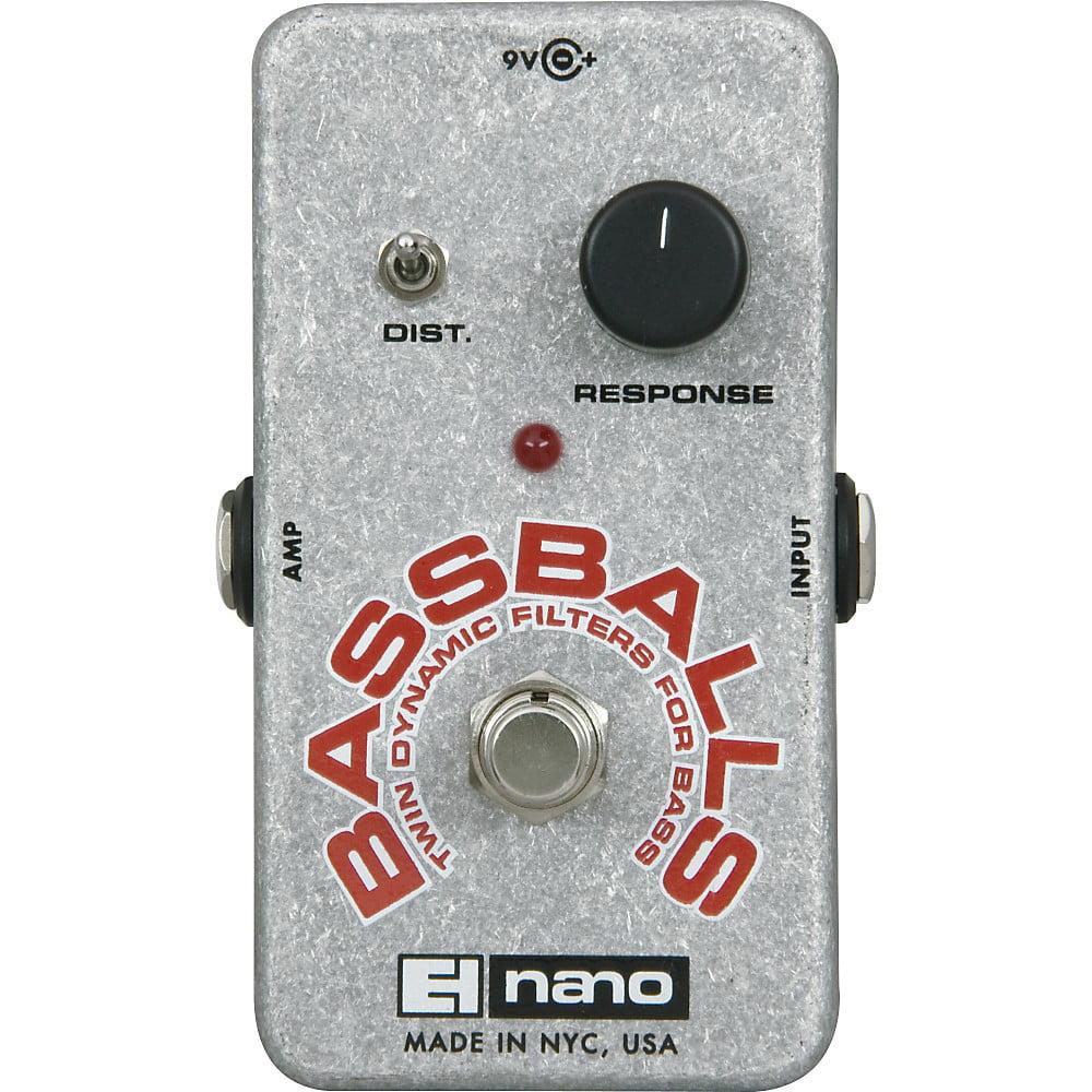 Electro-Harmonix Nano Bassballs Envelope Filter Bass Effects Pedal