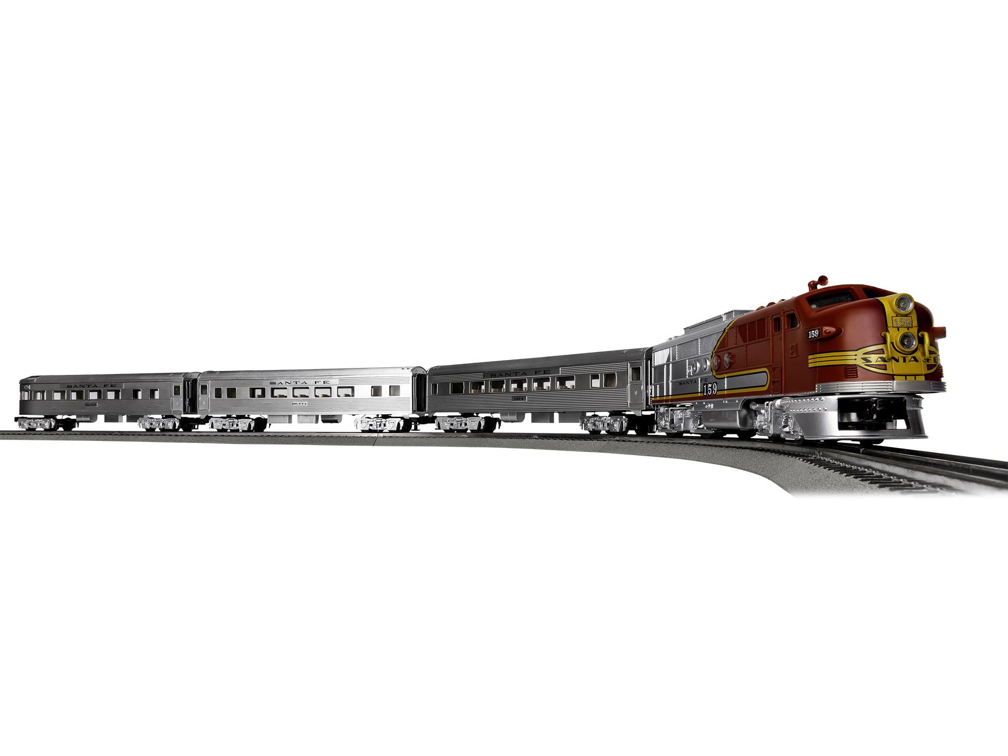 Lionel Trains Santa Fe Super Chief Seasonal LionChief Train Set w Bluetooth by Lionel, LLC