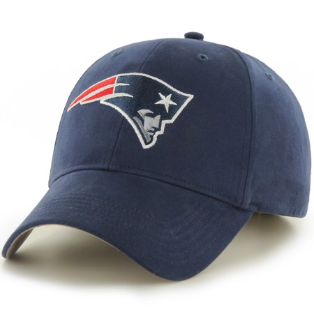 Youth Fan Favorite Navy New England Patriots Team Basic Adjustable Hat - OSFA (New England Patriots Clothing And Accessories)