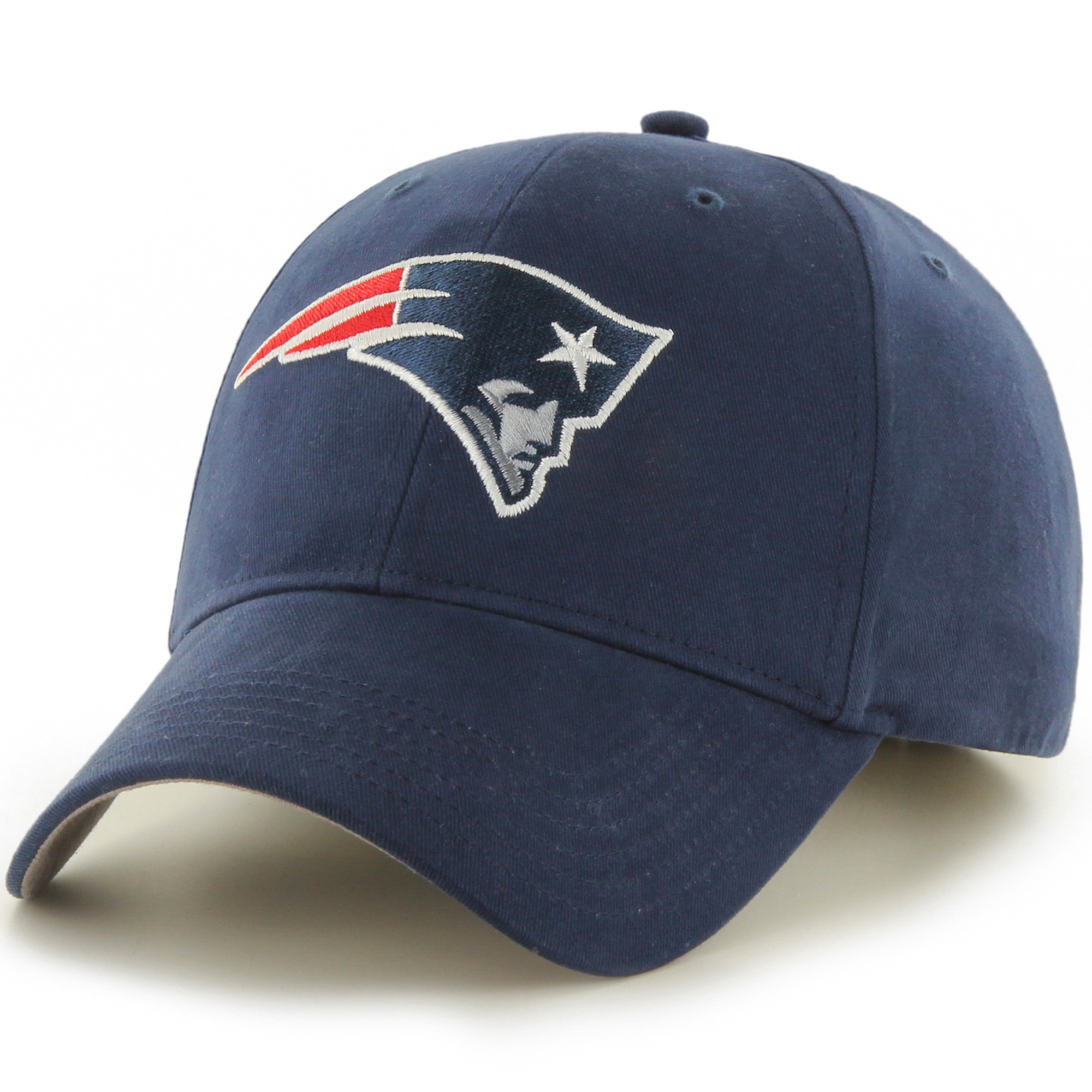 Youth Fan Favorite Navy New England Patriots Team Basic Adjustable Hat - OSFA