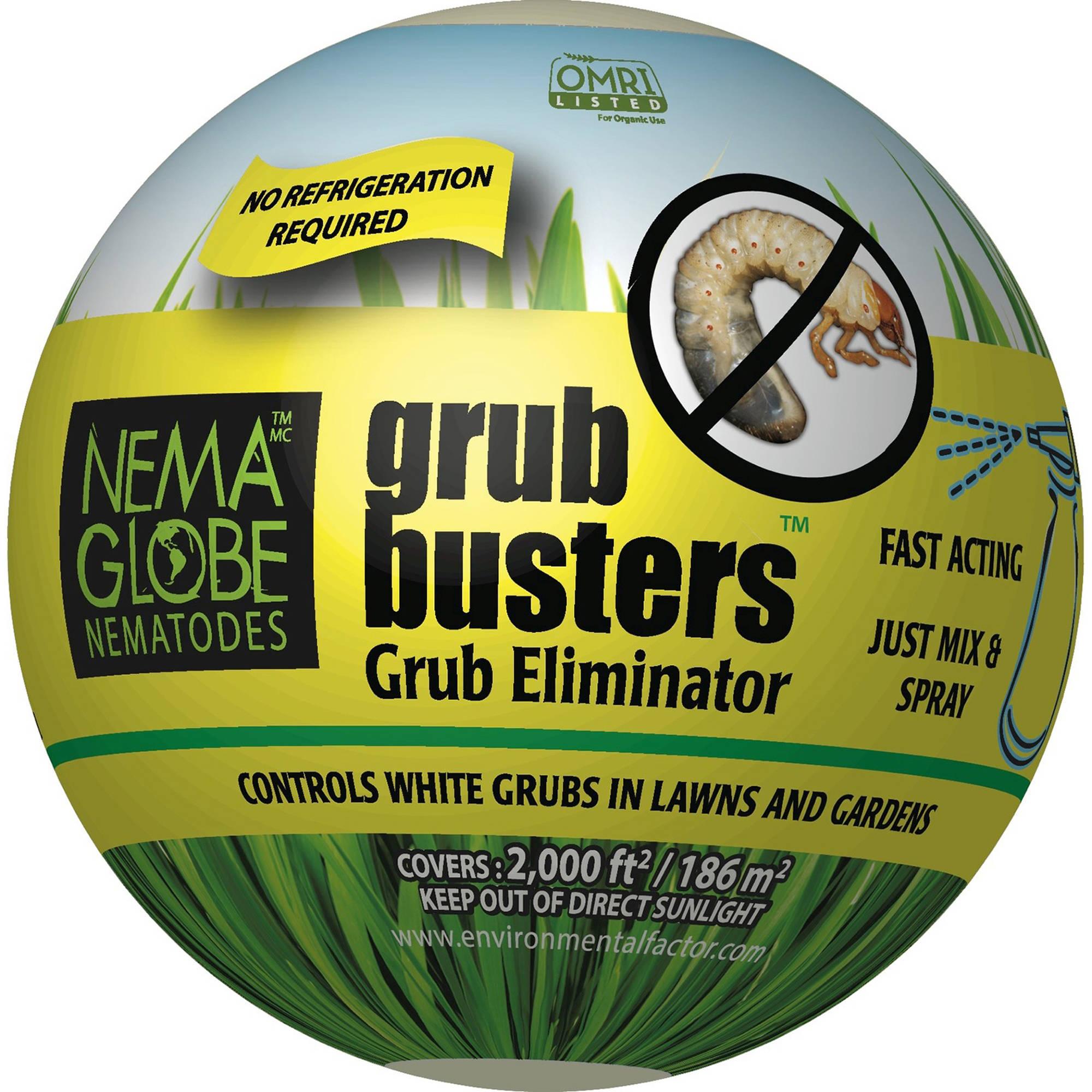 Nema Globe Nematodes 4003000 3000 Sq Ft Grub Busters Grub and Flea Control