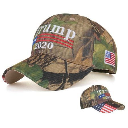 KABOER 2020 Trump Baseball Hats Keep America Great Camouflage Embroidery Campaign Adjustable USA Cap Greats Adjustable Hat