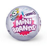 5 Surprise Mini Brands Series 3 Mystery Capsule Real Miniature Brands Collectible Toy by Zuru