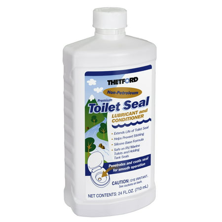 RV Toilet Seal Lubricant and Conditioner - Toilet Seal Lubricant - 24 oz - Thetford (Best Rv Toilet Reviews)