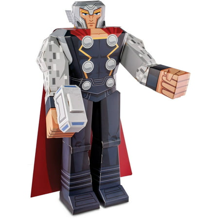 Thor Blueprint Papercraft 12 inch Figure - Walmart.com
