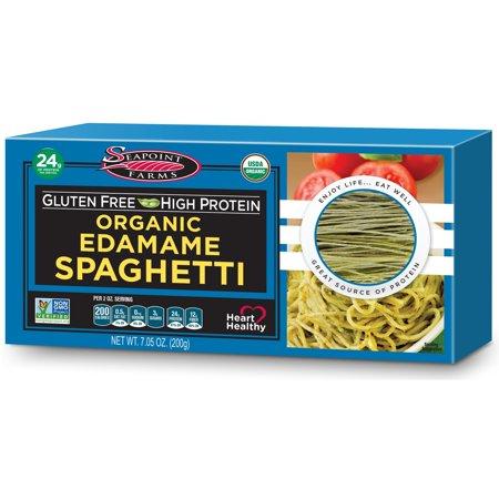 Seapoint Farms, Organic, Edamame Spaghetti, 7.05 oz (pack of 4)](Edamame Appetizer)