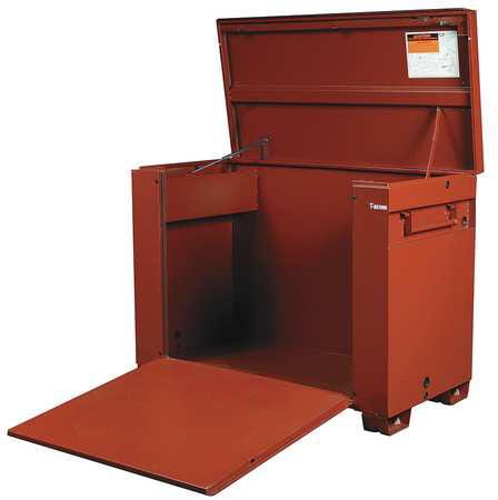 Jobox Jobsite Chest, Steel, Brown, 1-657990