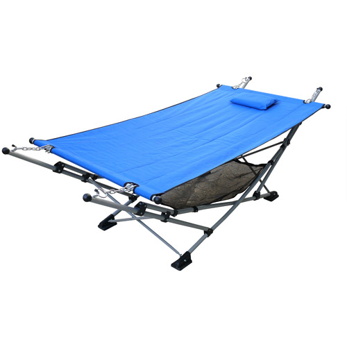 Bliss Hammocks EZ Stow Lite Hammock and Stand Combo, Multiple Colors