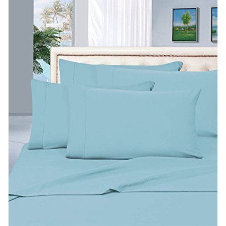 1 Rated Best Seller Luxurious Bed Sheets Set On Amazon  Elegant Comfort  1500 Thread Count Wrinkle Fade And Stain Resistant 4 Piece Bed Sheet Set  Deep Pocket  Hypoallergenic   Queen Aqua Blue