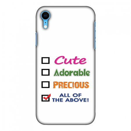 Ihx Mobile (iPhone Xr Case, Ultra Slim Case iPhone Xr Handcrafted Printed Hard Shell Back Protective Cover Designer iPhone Xs Max Case [6.1 Inch, 2018] - Cute )