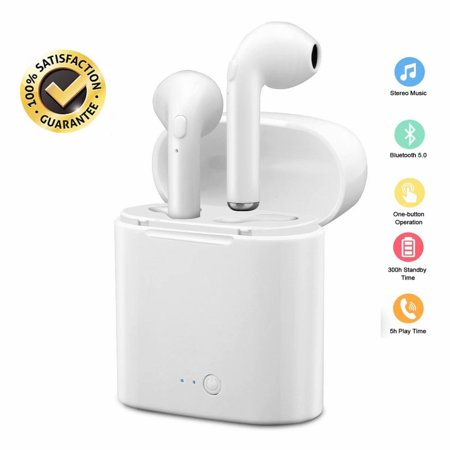 Black Friday Clearance!!!Wireless Earbuds,Bluetooth Headphones with Charging Case Mini Bluetooth Earbuds with Microphone Sports In Ear Wireless Earphones for iPhone LG Samsung or
