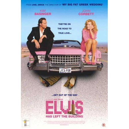 Elvis Has Left The Building Poster Movie  27X40