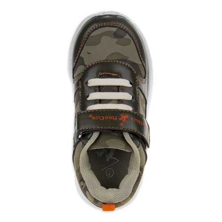 Beverly Hills Polo Club Toddler Boys Camo Athletic Sneakers