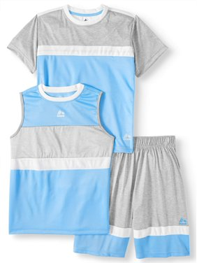 25f355a4 Product Image Tee, Muscle Tank and Short 3 Piece Set (Little Boys & Big  Boys)