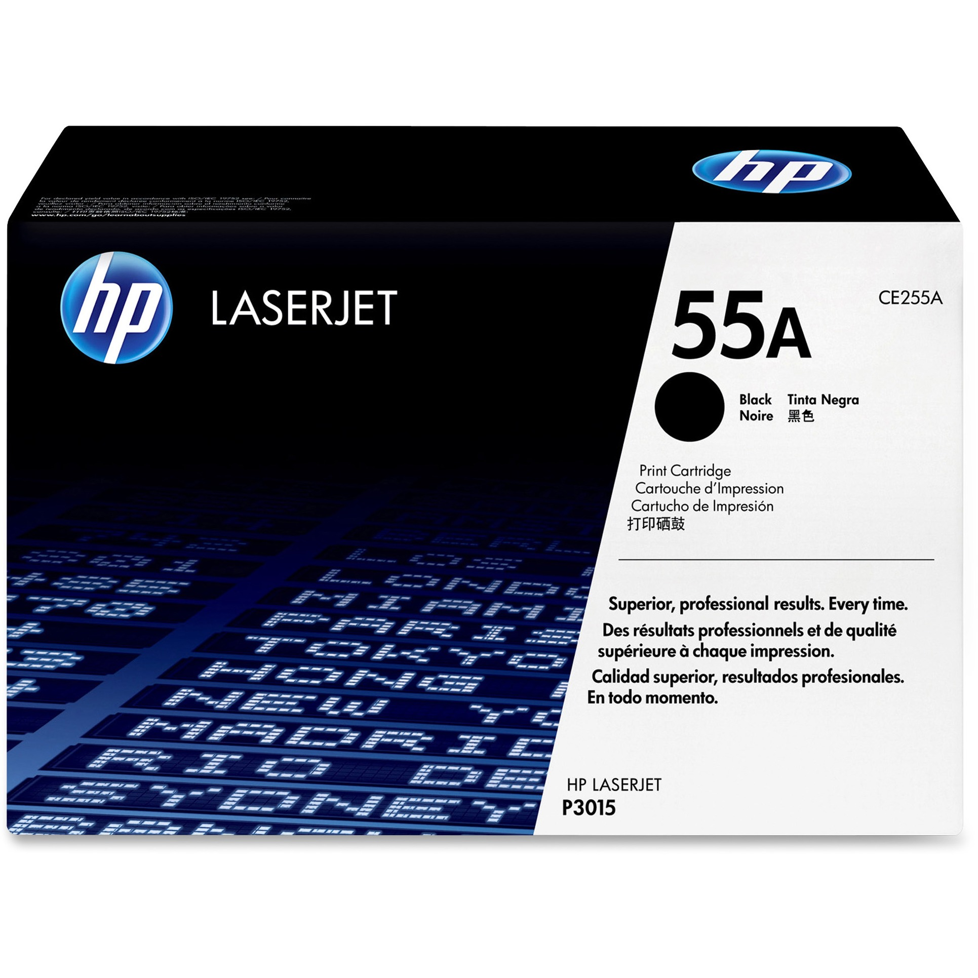 HP 55A Original Toner Cartridge - Single Pack, 1 Each (Quantity)