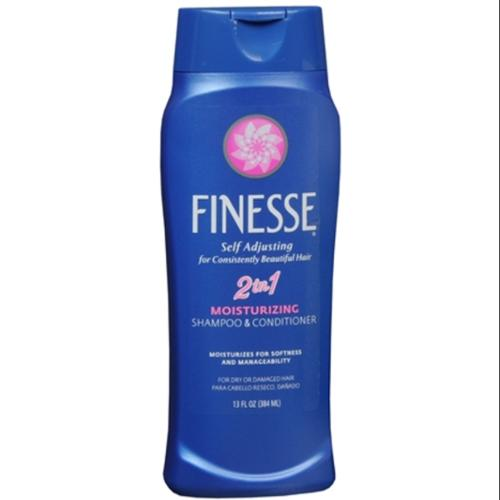 Finesse 2 in 1 Moisturizing Shampoo and Conditioner 13 oz (Pack of 2)